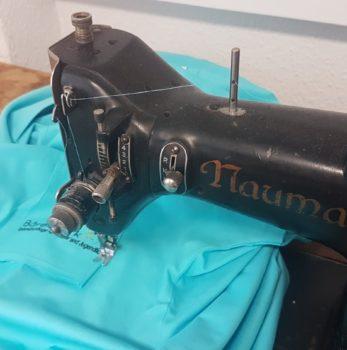 Nähmaschine NAUMANN steht für Werte beim STICKPROFI Dresden